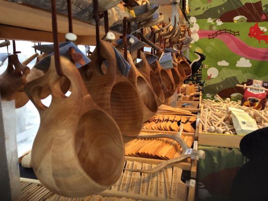 des kuksa vendues dans un magasin en finlande